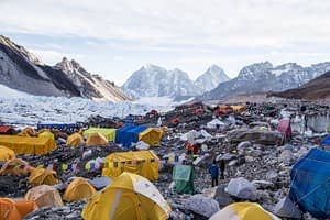 Base Camp in 2016